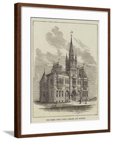The Derby Free Public Library and Museum--Framed Art Print