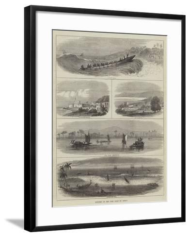 Sketches on the Gold Coast of Africa--Framed Art Print
