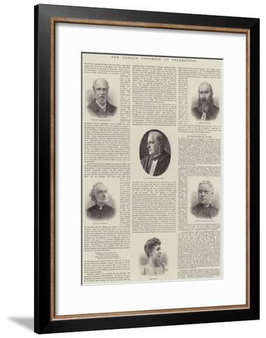 The Church Congress at Folkestone--Framed Art Print