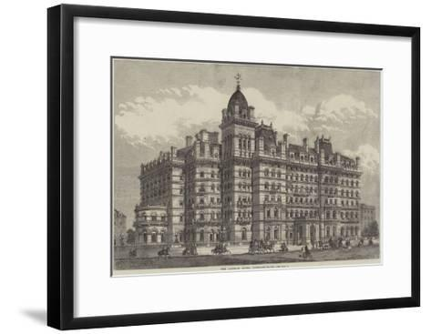 The Langham Hotel, Portland-Place--Framed Art Print