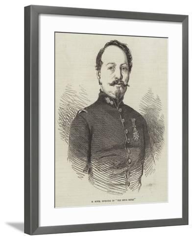M Minie, Inventor of The Minie Rifle--Framed Art Print