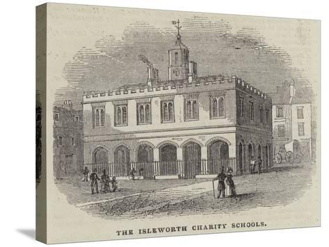 The Isleworth Charity Schools--Stretched Canvas Print