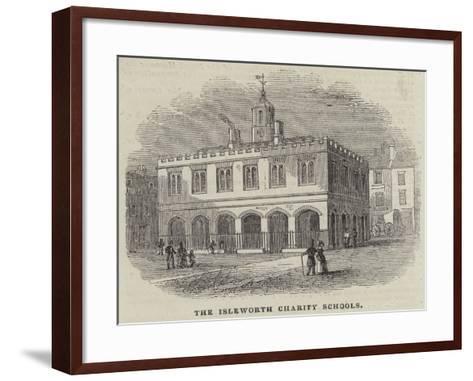 The Isleworth Charity Schools--Framed Art Print