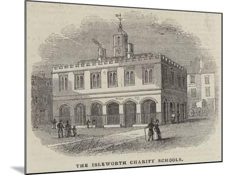 The Isleworth Charity Schools--Mounted Giclee Print