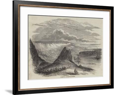 Kavarna Bay, and Town of Baltschik--Framed Art Print