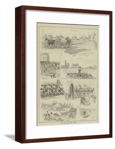 The North Warwickshire Kennels--Framed Art Print