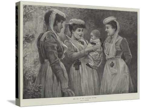 The Pet of the Hospital Nurses--Stretched Canvas Print