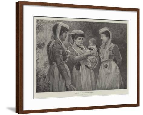 The Pet of the Hospital Nurses--Framed Art Print