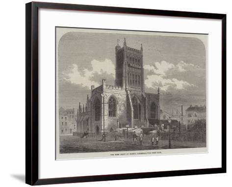 The West Front of Bristol Cathedral--Framed Art Print