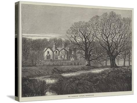 The Bachelors' Cottage, Sandringham--Stretched Canvas Print