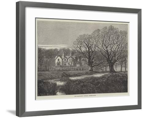 The Bachelors' Cottage, Sandringham--Framed Art Print