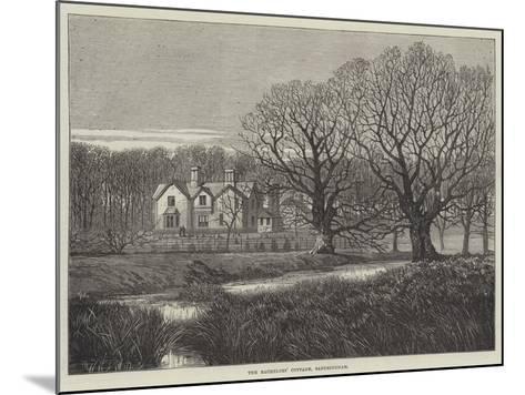 The Bachelors' Cottage, Sandringham--Mounted Giclee Print