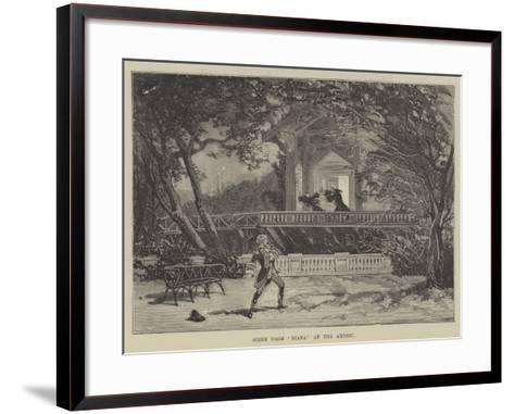 Scene from Diana at the Ambigu--Framed Art Print
