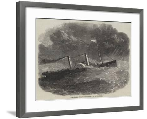 The Steam-Tug Resolute, of Liverpool--Framed Art Print
