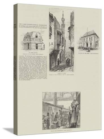 The Paris International Exhibition--Stretched Canvas Print