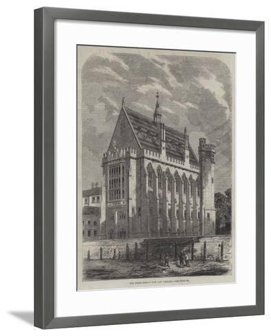 The Inner Temple New Law Library--Framed Art Print