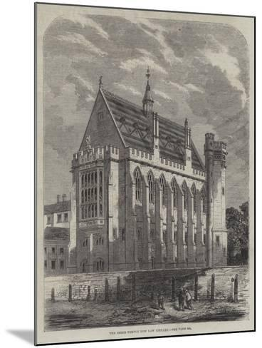 The Inner Temple New Law Library--Mounted Giclee Print