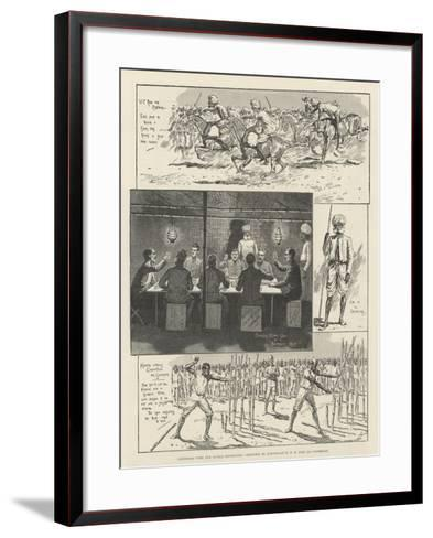 Christmas with the Lushai Expedition--Framed Art Print