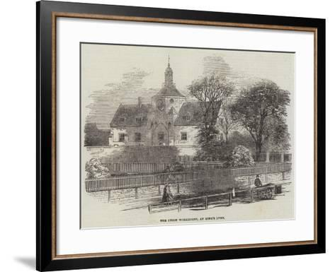 The Union Workhouse, at King's Lynn--Framed Art Print