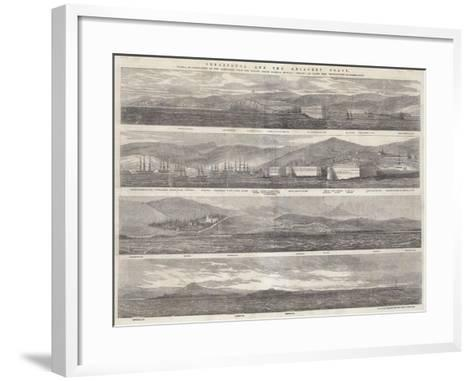 Sebastopol and the Adjacent Coast--Framed Art Print