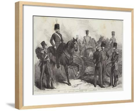 The Royal Regiment of Artillery--Framed Art Print