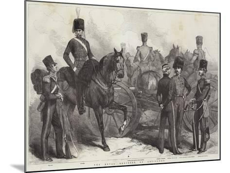 The Royal Regiment of Artillery--Mounted Giclee Print