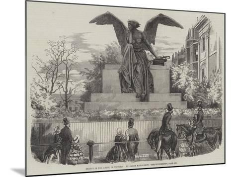 Statue of the Angel of Victory--Mounted Giclee Print