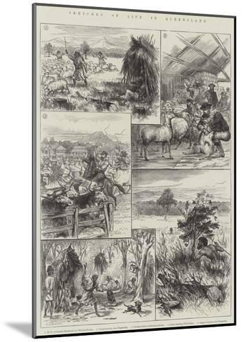 Sketches of Life in Queensland--Mounted Giclee Print