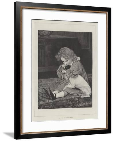 One of the Anti-Muzzling League--Framed Art Print
