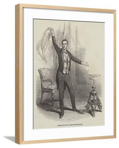Robert-Houdin's Soirees Fantastiques--Framed Art Print