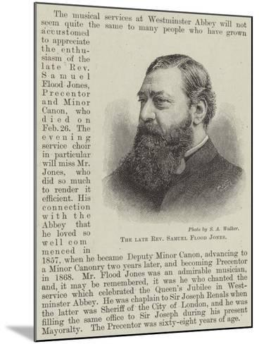 The Late Reverend Samuel Flood Jones--Mounted Giclee Print