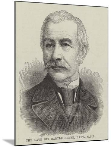 The Late Sir Bartle Frere, Baronet--Mounted Giclee Print