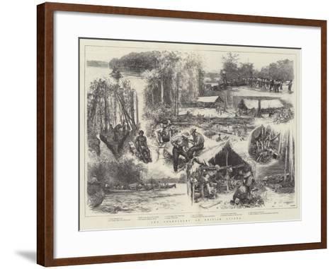 The Goldfields of British Guiana--Framed Art Print
