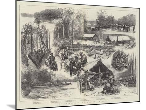 The Goldfields of British Guiana--Mounted Giclee Print