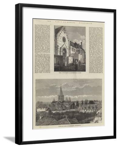 The Paray-Le-Monial Pilgrimage--Framed Art Print