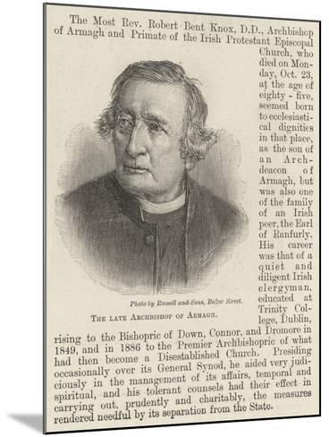 The Late Archbishop of Armagh--Mounted Giclee Print