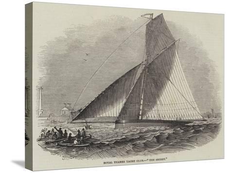 Royal Thames Yacht Club, The Secret--Stretched Canvas Print