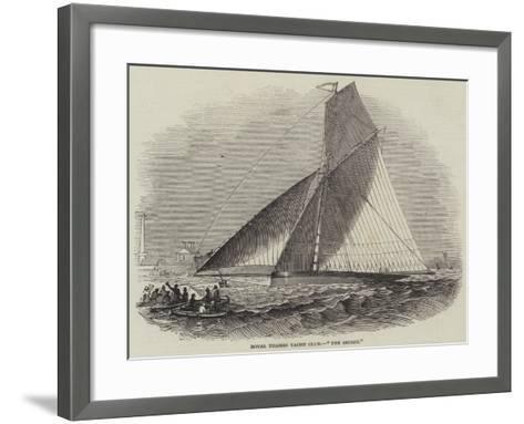 Royal Thames Yacht Club, The Secret--Framed Art Print