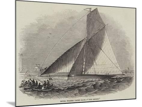 Royal Thames Yacht Club, The Secret--Mounted Giclee Print
