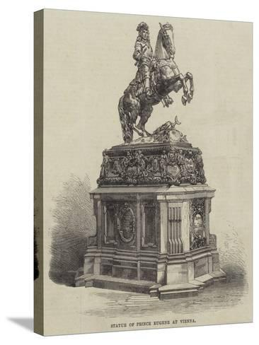 Statue of Prince Eugene at Vienna--Stretched Canvas Print