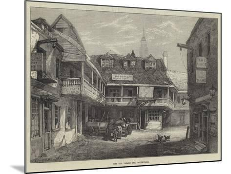 The Old Tabard Inn, Southwark--Mounted Giclee Print