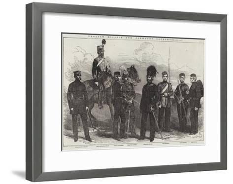 English Militia and Yeomanry Cavalry--Framed Art Print