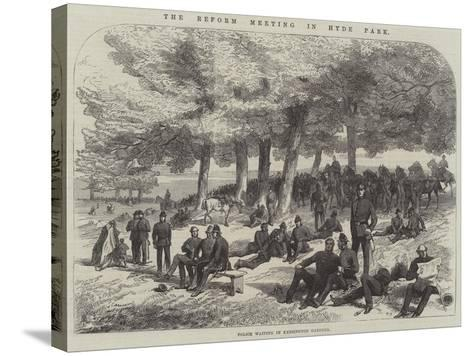 The Reform Meeting in Hyde Park--Stretched Canvas Print