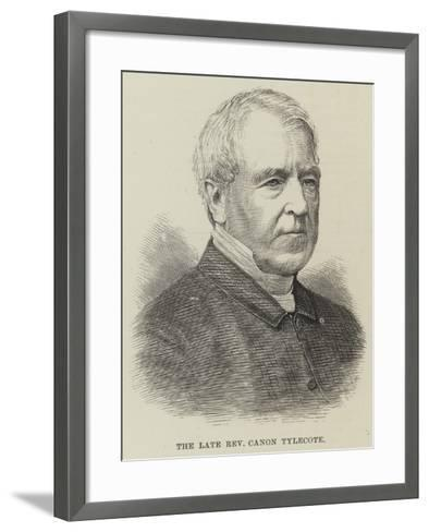The Late Reverend Canon Tylecote--Framed Art Print