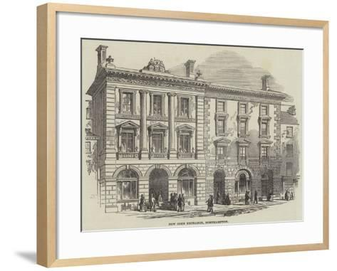 New Corn Exchange, Northampton--Framed Art Print