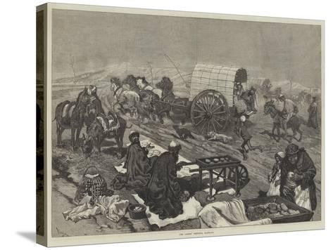 The Ladies' Omnibus, Kashgar--Stretched Canvas Print