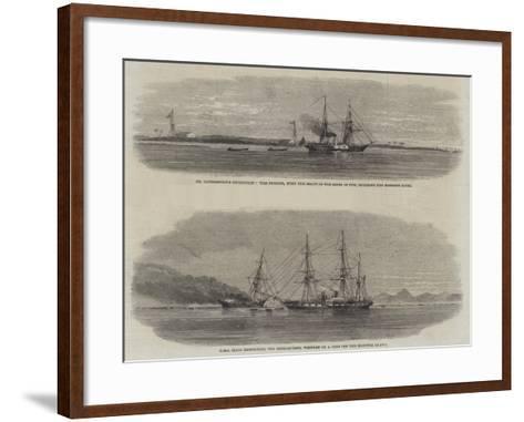 The Livingstone Expedition--Framed Art Print
