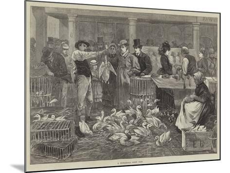 A Michaelmas Goose Fair--Mounted Giclee Print