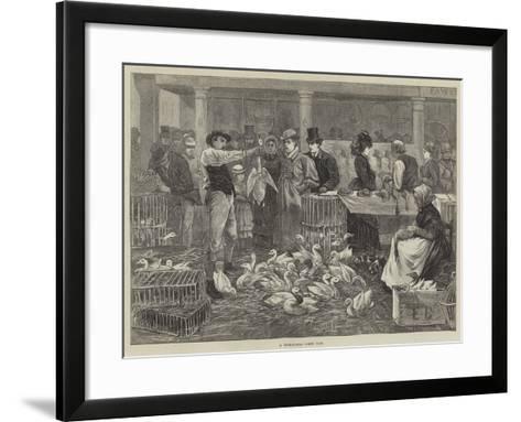 A Michaelmas Goose Fair--Framed Art Print