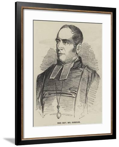 The Reverend Mr Gorham--Framed Art Print